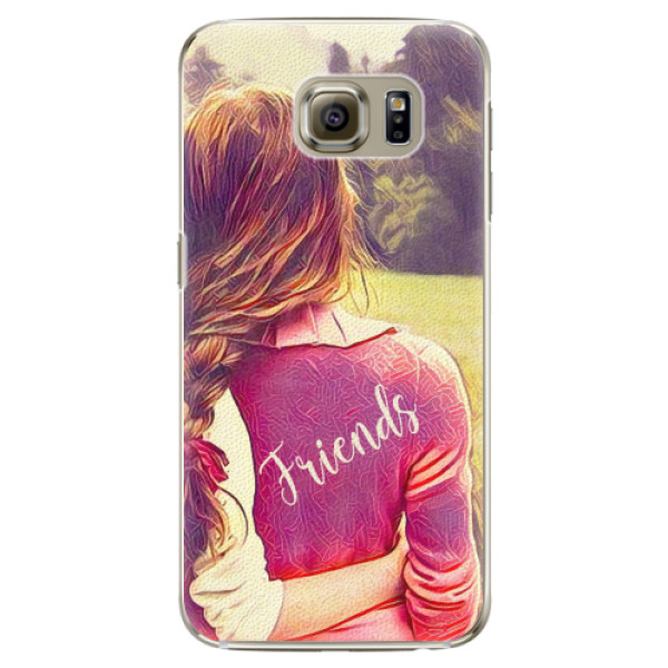Plastové pouzdro iSaprio - BF Friends - Samsung Galaxy S6 Edge Plus