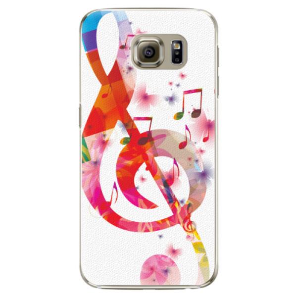 Plastové pouzdro iSaprio - Love Music - Samsung Galaxy S6 Edge Plus