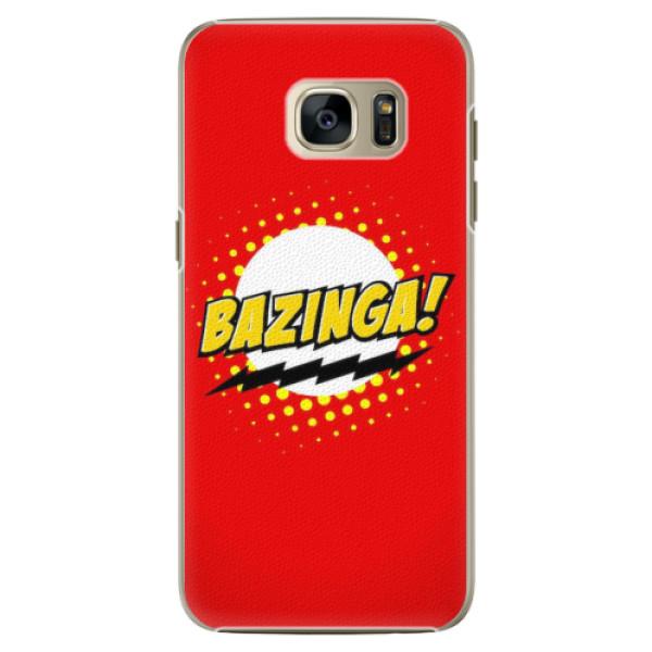 Plastové pouzdro iSaprio - Bazinga 01 - Samsung Galaxy S7
