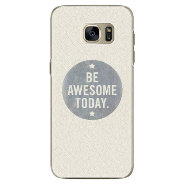 Plastové pouzdro iSaprio - Awesome 02 - Samsung Galaxy S7
