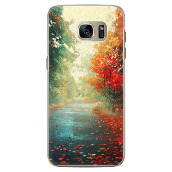 Plastové pouzdro iSaprio - Autumn 03 - Samsung Galaxy S7
