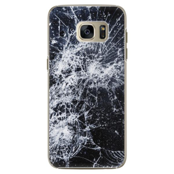 Plastové pouzdro iSaprio - Cracked - Samsung Galaxy S7