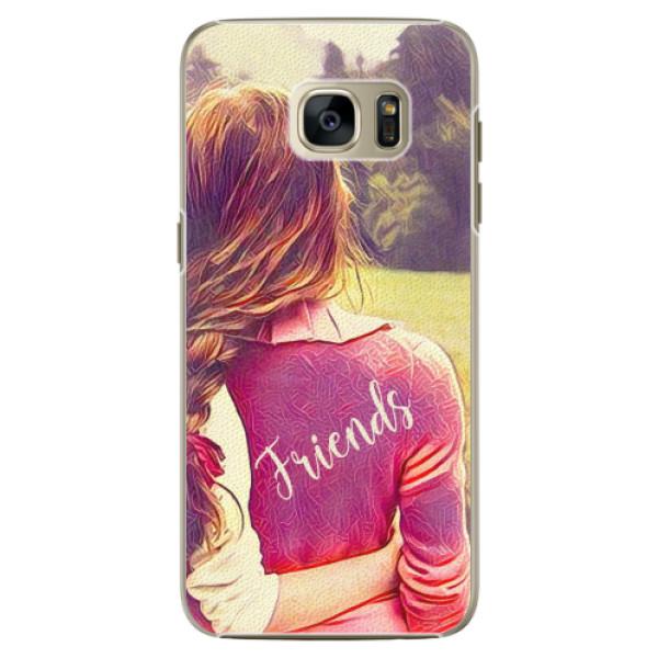 Plastové pouzdro iSaprio - BF Friends - Samsung Galaxy S7