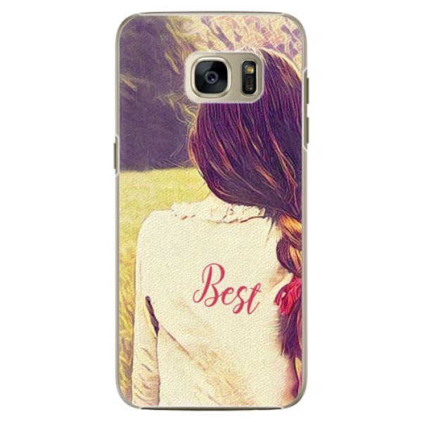 Plastové pouzdro iSaprio - BF Best - Samsung Galaxy S7