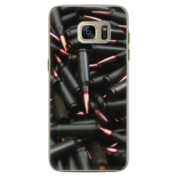Plastové pouzdro iSaprio - Black Bullet - Samsung Galaxy S7