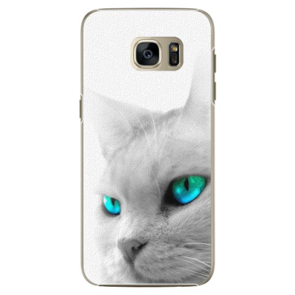 Plastové pouzdro iSaprio - Cats Eyes - Samsung Galaxy S7