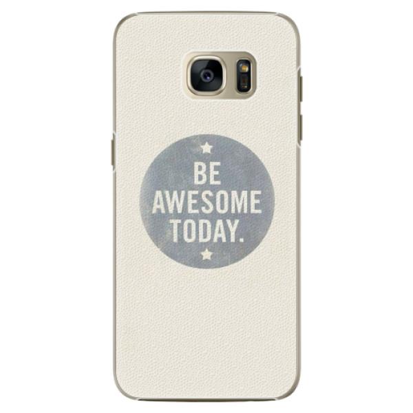 Plastové pouzdro iSaprio - Awesome 02 - Samsung Galaxy S7 Edge