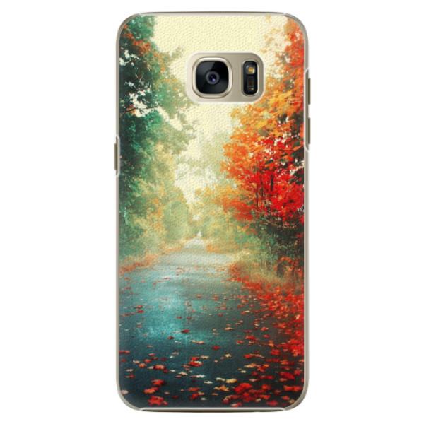 Plastové pouzdro iSaprio - Autumn 03 - Samsung Galaxy S7 Edge