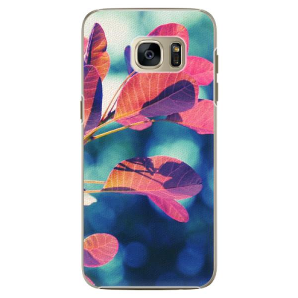 Plastové pouzdro iSaprio - Autumn 01 - Samsung Galaxy S7 Edge