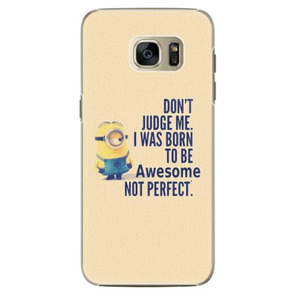 Plastové pouzdro iSaprio - Be Awesome - Samsung Galaxy S7 Edge