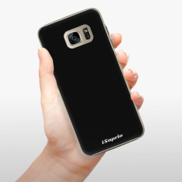 Plastové pouzdro iSaprio - 4Pure - černý - Samsung Galaxy S7 Edge