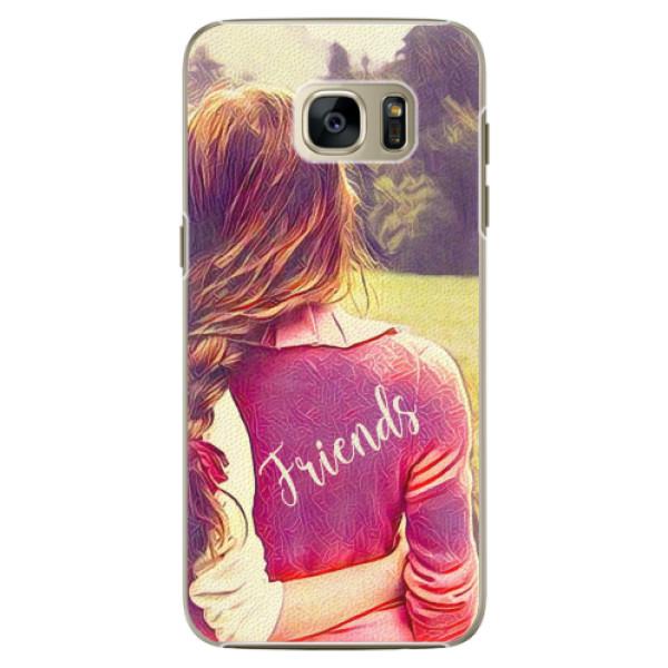 Plastové pouzdro iSaprio - BF Friends - Samsung Galaxy S7 Edge