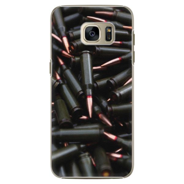 Plastové pouzdro iSaprio - Black Bullet - Samsung Galaxy S7 Edge