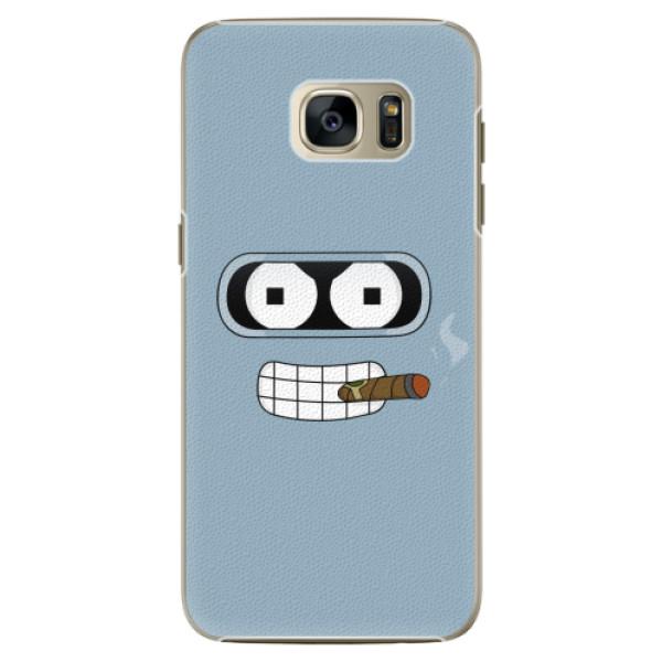 Plastové pouzdro iSaprio - Bender - Samsung Galaxy S7 Edge