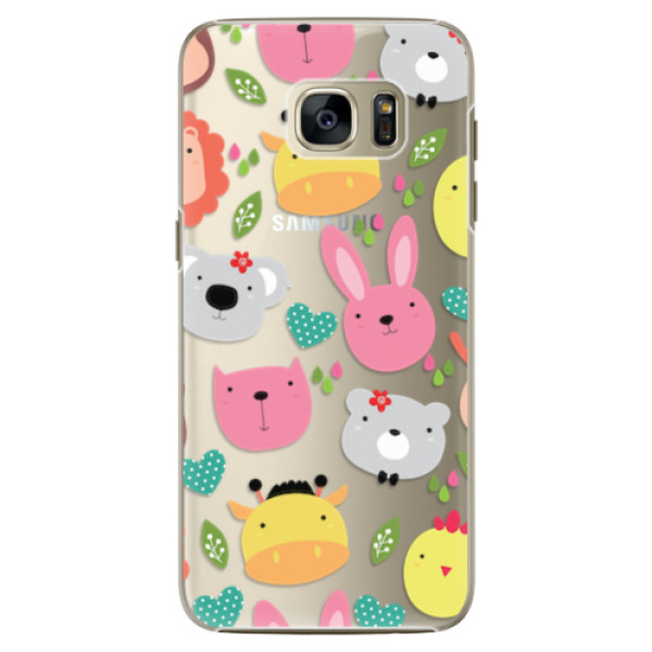 Plastové pouzdro iSaprio - Animals 01 - Samsung Galaxy S7 Edge