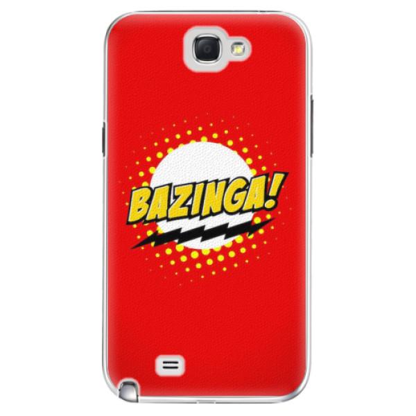 Plastové pouzdro iSaprio - Bazinga 01 - Samsung Galaxy Note 2