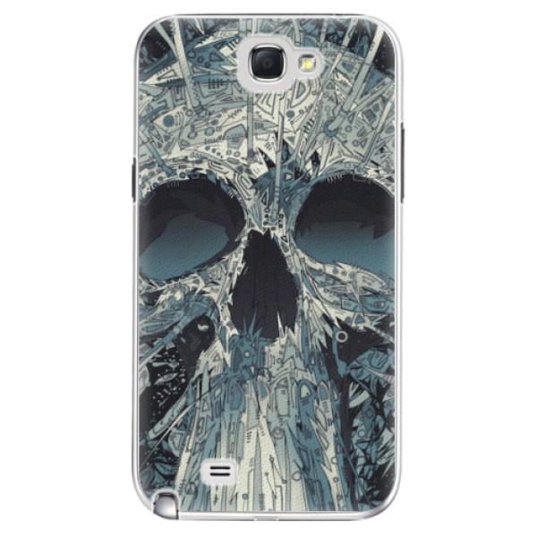 Plastové pouzdro iSaprio - Abstract Skull - Samsung Galaxy Note 2