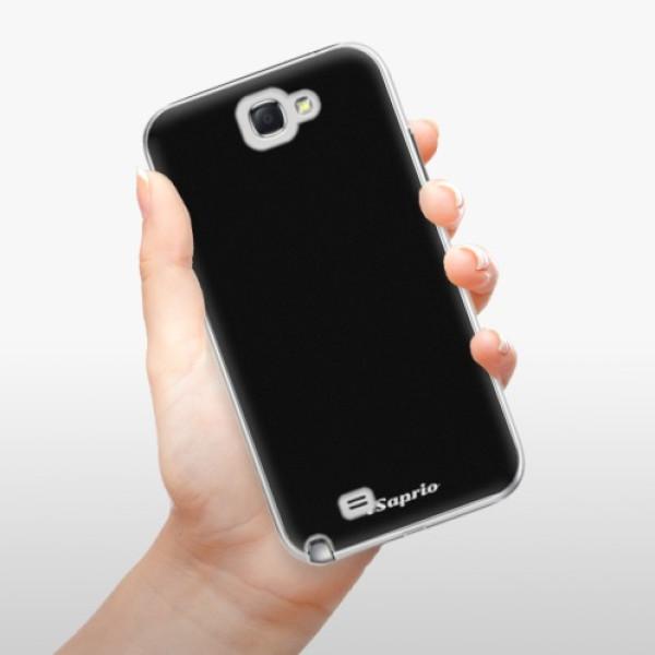Plastové pouzdro iSaprio - 4Pure - černý - Samsung Galaxy Note 2