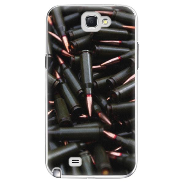Plastové pouzdro iSaprio - Black Bullet - Samsung Galaxy Note 2