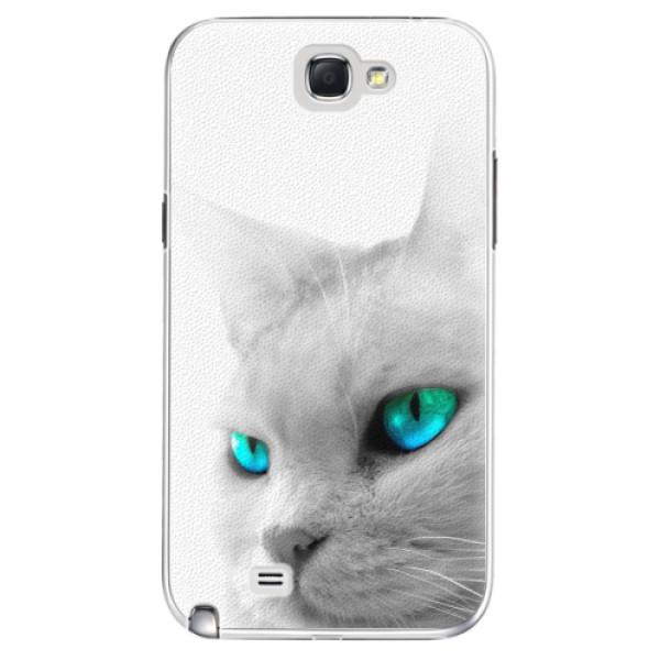 Plastové pouzdro iSaprio - Cats Eyes - Samsung Galaxy Note 2