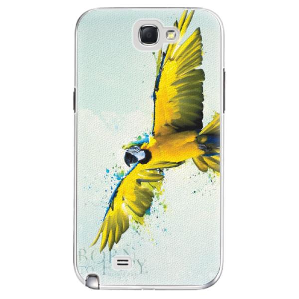 Plastové pouzdro iSaprio - Born to Fly - Samsung Galaxy Note 2