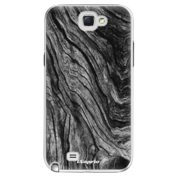 Plastové pouzdro iSaprio - Burned Wood - Samsung Galaxy Note 2