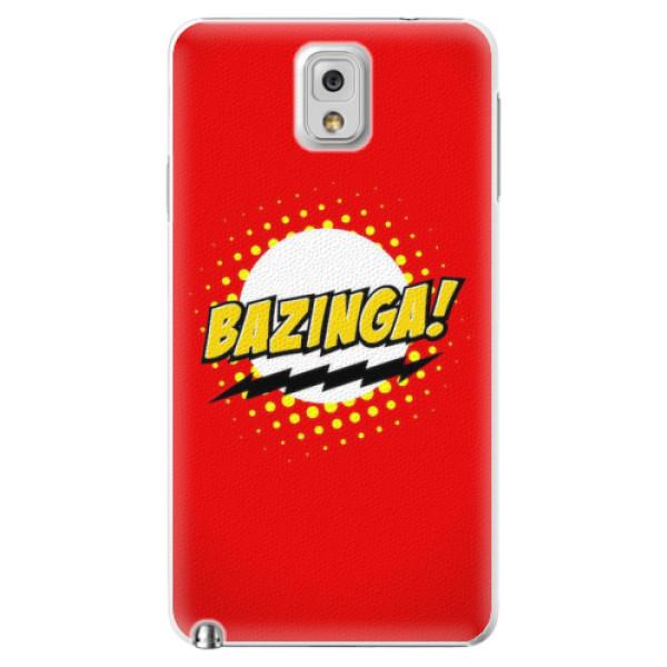 Plastové pouzdro iSaprio - Bazinga 01 - Samsung Galaxy Note 3