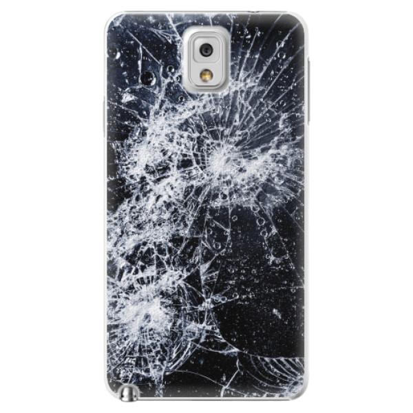 Plastové pouzdro iSaprio - Cracked - Samsung Galaxy Note 3