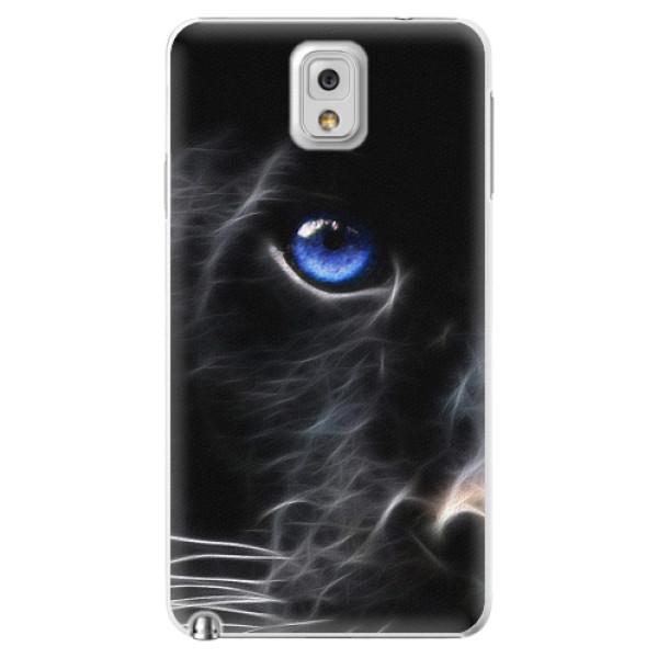 Plastové pouzdro iSaprio - Black Puma - Samsung Galaxy Note 3
