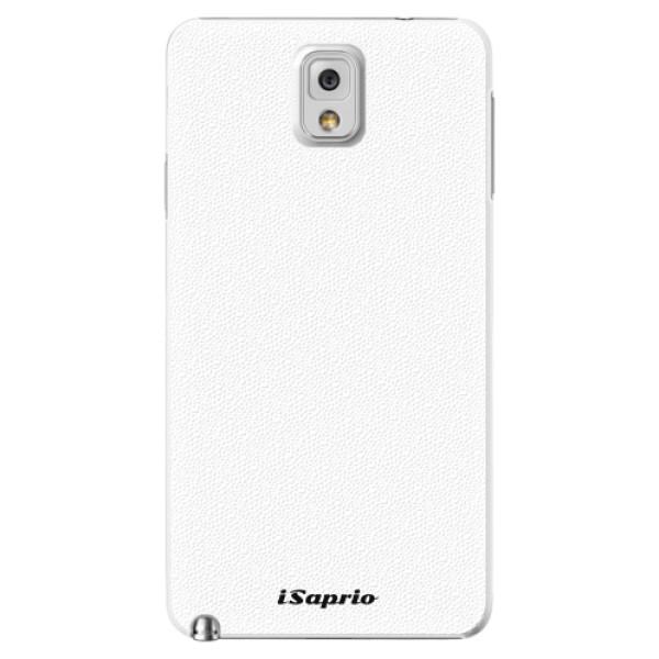 Plastové pouzdro iSaprio - 4Pure - bílý - Samsung Galaxy Note 3