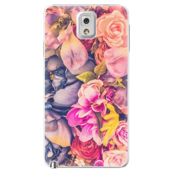 Plastové pouzdro iSaprio - Beauty Flowers - Samsung Galaxy Note 3