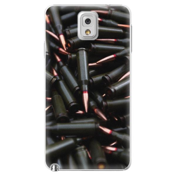 Plastové pouzdro iSaprio - Black Bullet - Samsung Galaxy Note 3