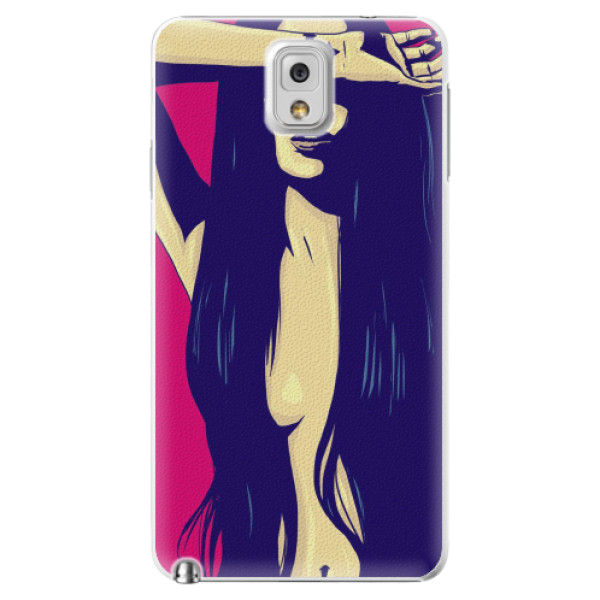 Plastové pouzdro iSaprio - Cartoon Girl - Samsung Galaxy Note 3