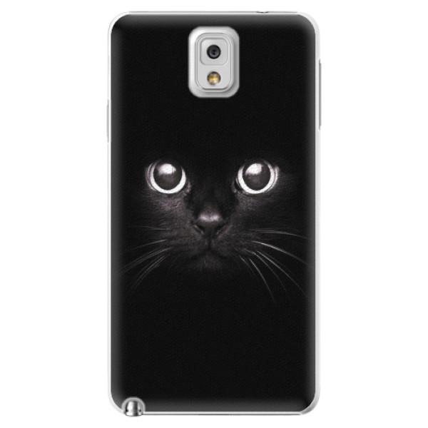 Plastové pouzdro iSaprio - Black Cat - Samsung Galaxy Note 3