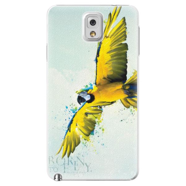 Plastové pouzdro iSaprio - Born to Fly - Samsung Galaxy Note 3