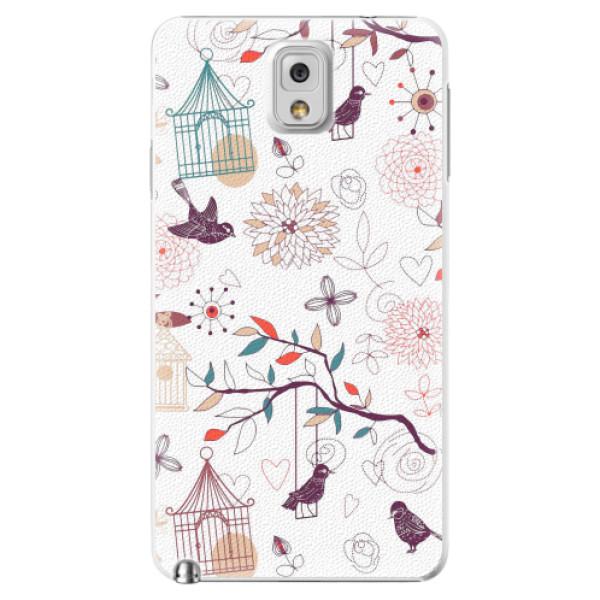 Plastové pouzdro iSaprio - Birds - Samsung Galaxy Note 3