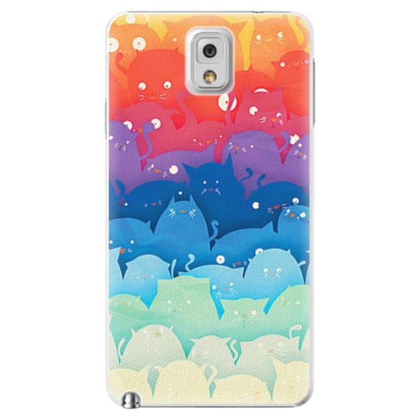 Plastové pouzdro iSaprio - Cats World - Samsung Galaxy Note 3