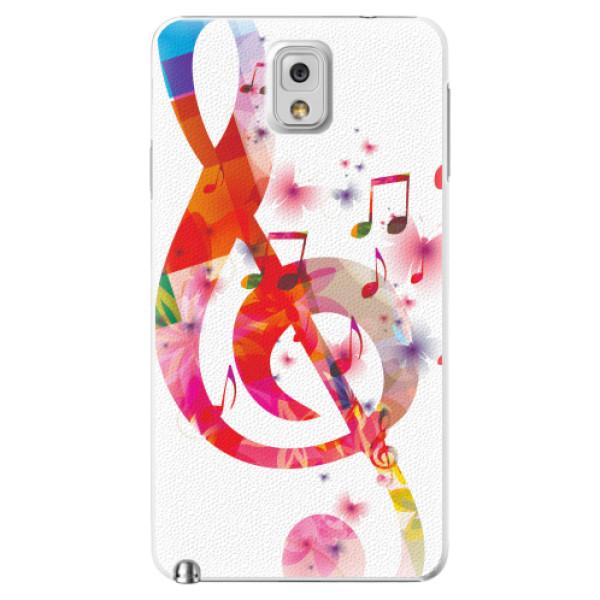 Plastové pouzdro iSaprio - Love Music - Samsung Galaxy Note 3