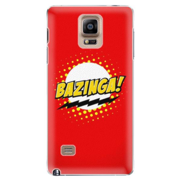 Plastové pouzdro iSaprio - Bazinga 01 - Samsung Galaxy Note 4
