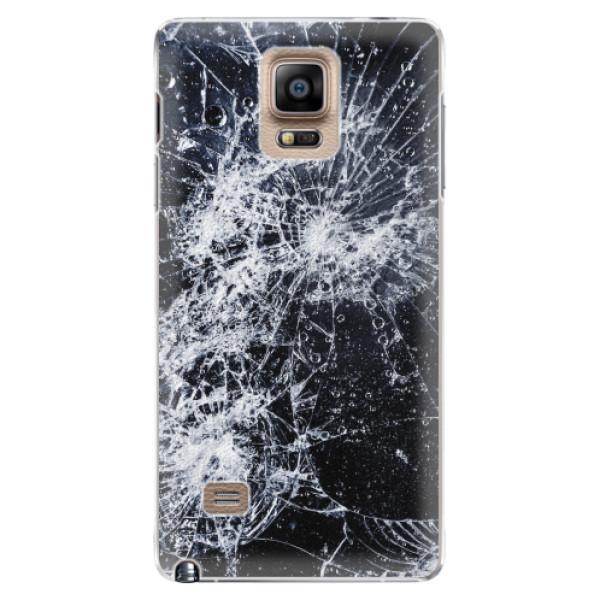 Plastové pouzdro iSaprio - Cracked - Samsung Galaxy Note 4