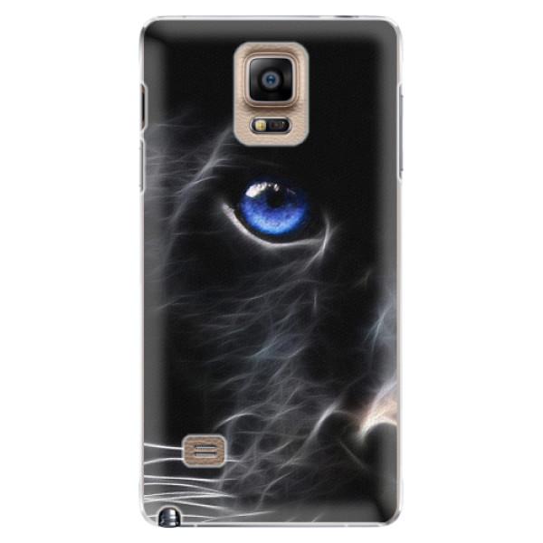 Plastové pouzdro iSaprio - Black Puma - Samsung Galaxy Note 4