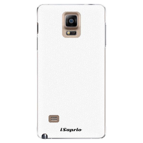Plastové pouzdro iSaprio - 4Pure - bílý - Samsung Galaxy Note 4