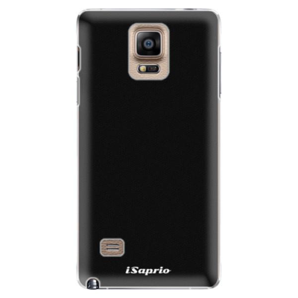 Plastové pouzdro iSaprio - 4Pure - černý - Samsung Galaxy Note 4