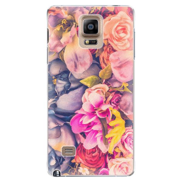 Plastové pouzdro iSaprio - Beauty Flowers - Samsung Galaxy Note 4