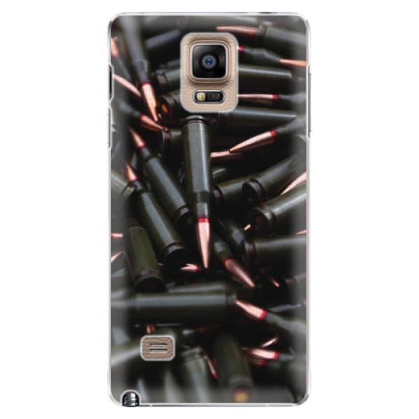 Plastové pouzdro iSaprio - Black Bullet - Samsung Galaxy Note 4