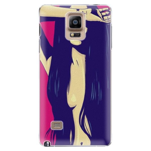 Plastové pouzdro iSaprio - Cartoon Girl - Samsung Galaxy Note 4