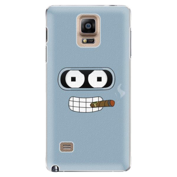 Plastové pouzdro iSaprio - Bender - Samsung Galaxy Note 4