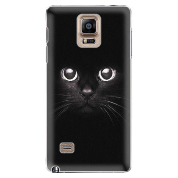 Plastové pouzdro iSaprio - Black Cat - Samsung Galaxy Note 4
