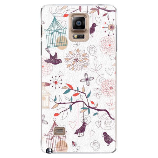 Plastové pouzdro iSaprio - Birds - Samsung Galaxy Note 4
