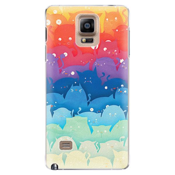 Plastové pouzdro iSaprio - Cats World - Samsung Galaxy Note 4